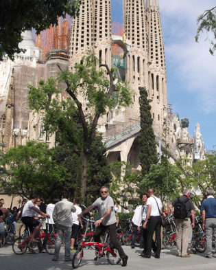 Sagrada Familia bike tour
