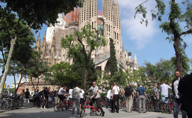 Sagrada Familia bike tour